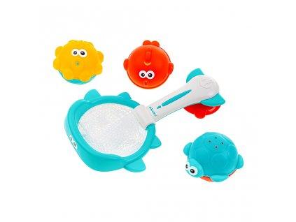 Dětské hračky do vody koš s hračkami Akuku