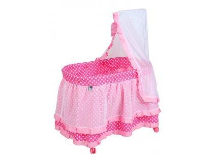 Košík pro panenky PlayTo Nikolka (poškozený obal)