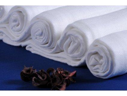 Dětské pleny Prem bambusovo bavlněné 70 x 70 cm-5 kusů bílé