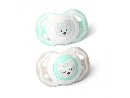 Dětské symetrické šidítko Baby Ono 3-6m 2ks