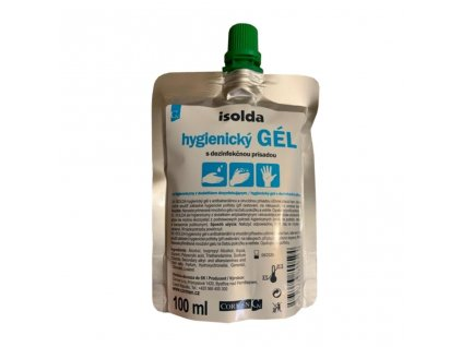 Dezinfekční gel Isolda 100 ml s virucidní a antimikrobiální přísadou