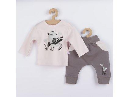 Kojenecké bavlněné tepláčky a tričko Koala Birdy