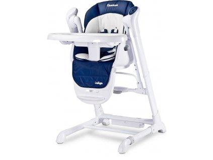Dětská jídelní židlička 2v1 Caretero Indigo