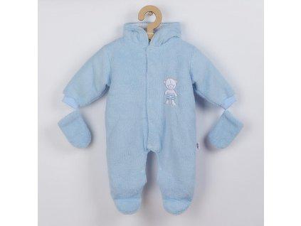 Zimní kombinézka New Baby Nice Bear modrá