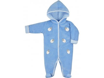 Zimní kojenecká kombinéza Bobas Fashion Ovečky