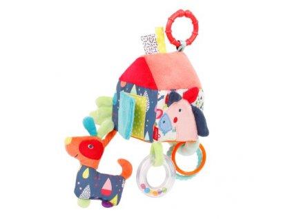 detska hracka na kocarek baby fehn color friends aktivity domecek