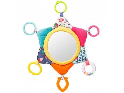 detska hracka na kocarek baby fehn color friends aktivity zrcatko