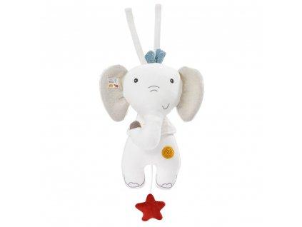 detska hracka na kocarek baby fehn natur hraci slon