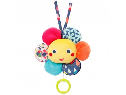 detska hracka na kocarek baby fehn color friends hraci kytka