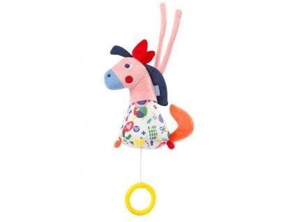 detska hracka na kocarek baby fehn color friends maly hraci konik