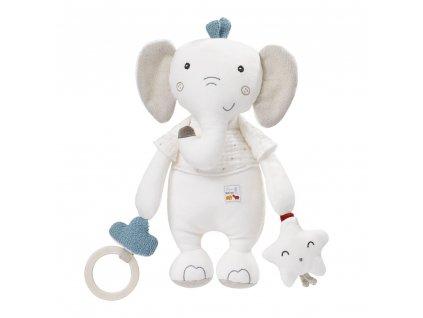 detska hracka na kocarek baby fehn aktivity slon