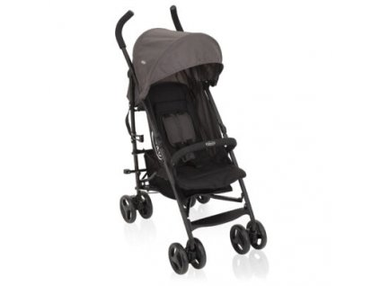 golfovy detsky kocarek graco travellite black grey