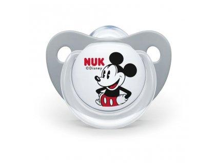 Šidítko NUK Trendline Mickey Mouse 6-18 m