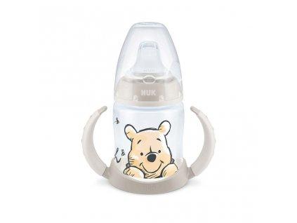 Kojenecká láhev na učení NUK 150 ml Disney Medvídek Pú