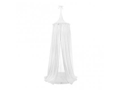 Závěsný stropní luxusní baldachýn-nebesa Belisima bílé