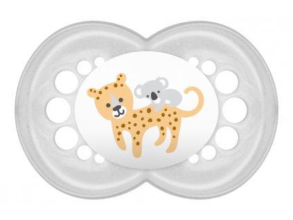 detske siditko mam animal silikon 6 mesicu tygr
