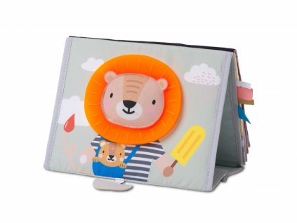 detska knizka pro hru na brisku taf toys savana