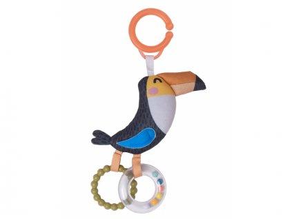 detska hracka na kocarek taf toys chrastitko tukan tuki