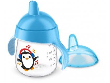 detsky hrnecek philips avent premium pro prvni dousky 260 ml new modra