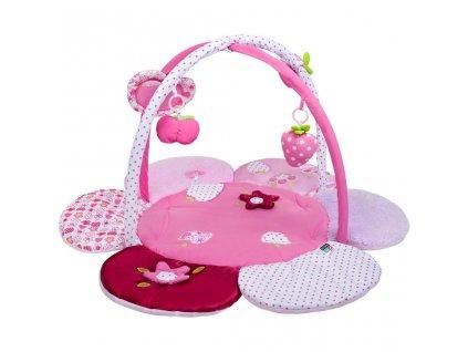 Dětská hrací deka PlayTo kytička