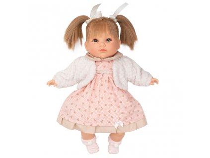 Luxusní mluvící dětská panenka-holčička Berbesa Natálka 40 cm
