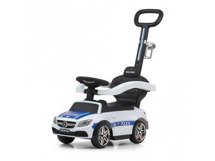 Dětské odrážedlo s vodící tyčí Mercedes Benz AMG C63 Coupe Milly Mally