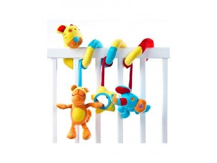 Dětská hračka na postýlku spirála Sensillo Tygřík