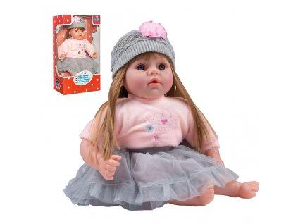 Česky mluvící a zpívající dětská panenka PlayTo Nina 46 cm