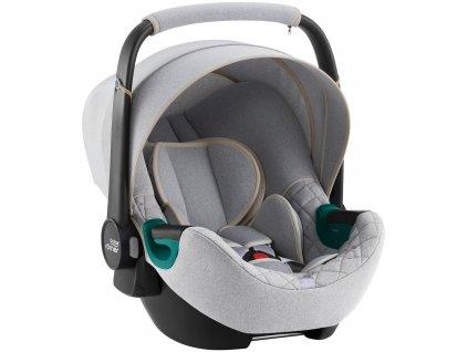 detska autosedacka britax romer baby safe 3 i size nordic grey