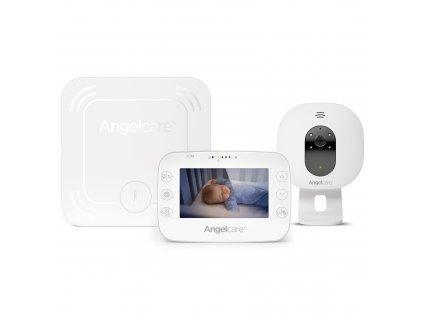monitor pohybu dechu a detska elekronicka video chuvicka angelcare ac527