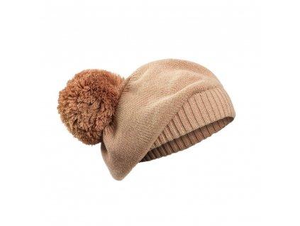 detsky zimni baret elodie details knitted beret blushing pink 3 100 y
