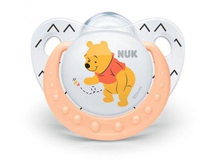 detske siditko nuk trendline disney medvidek pu silikon 6 18 mesicu oranzova