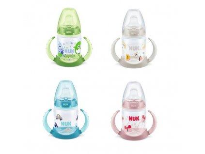 detska lahev na uceni nuk fc + 6 mesicu 150 ml