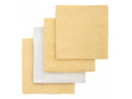 detska bambusova zinka t tomi 4 kusy zluta