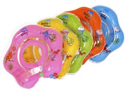 detsky nafukovaci kruh baby ring 3 36 mesicu modra 2