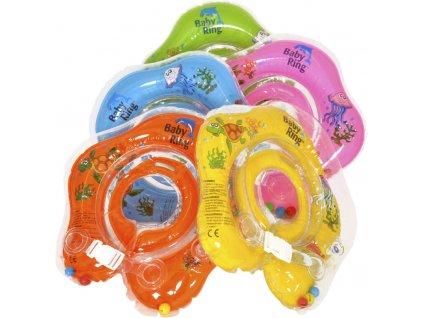 detsky nafukovaci kruh baby ring 0 24 mesicu zluta 2