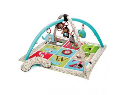 Dětská hrací deka Skip Hop ABC Zoo s hrazdou
