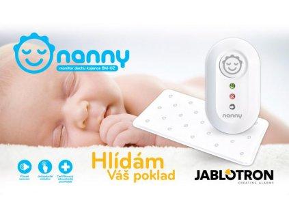 Dětský monitor dechu Nanny