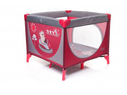 cestovni detska ohradka 4baby colorado red