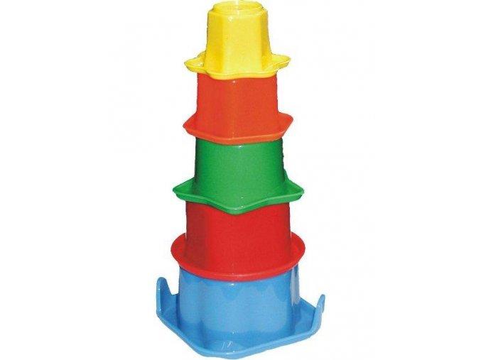 Dětská edukační hračka Baby Mix Sada kelímků