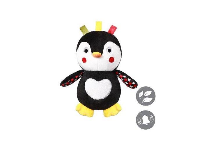 detska plysova hracka babyono s chrastitkem tucnak connor