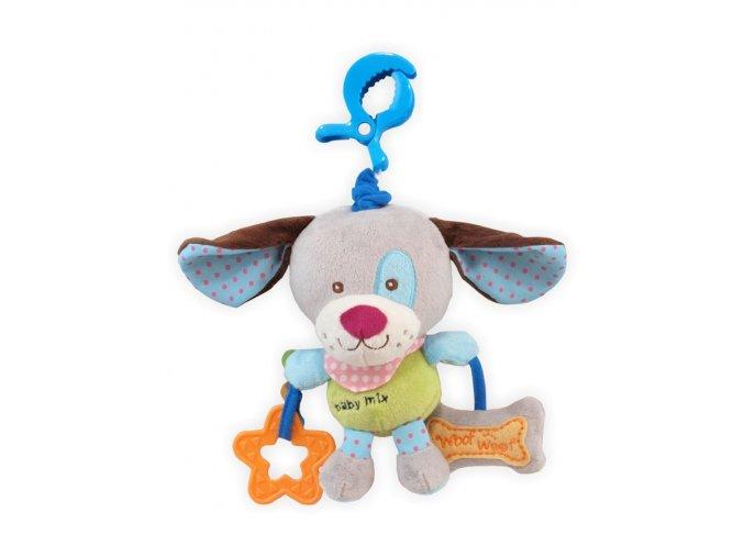 detska hracka na kocarek baby mix pes