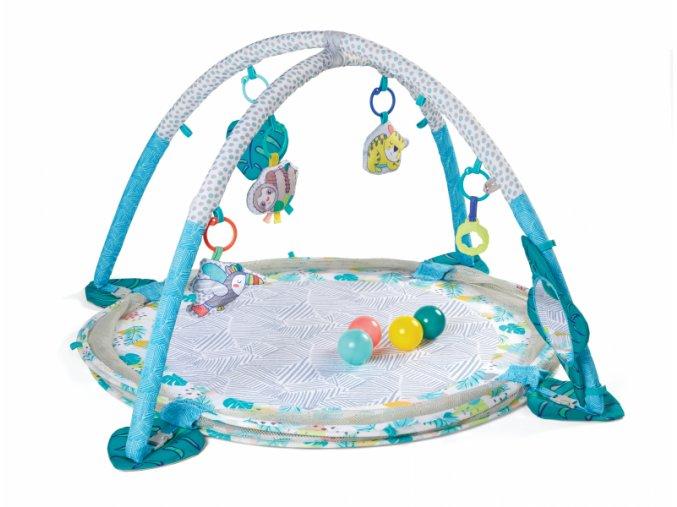 detska hraci deka infantino jumbo 3 v 1 s hrazdou a ohradkou