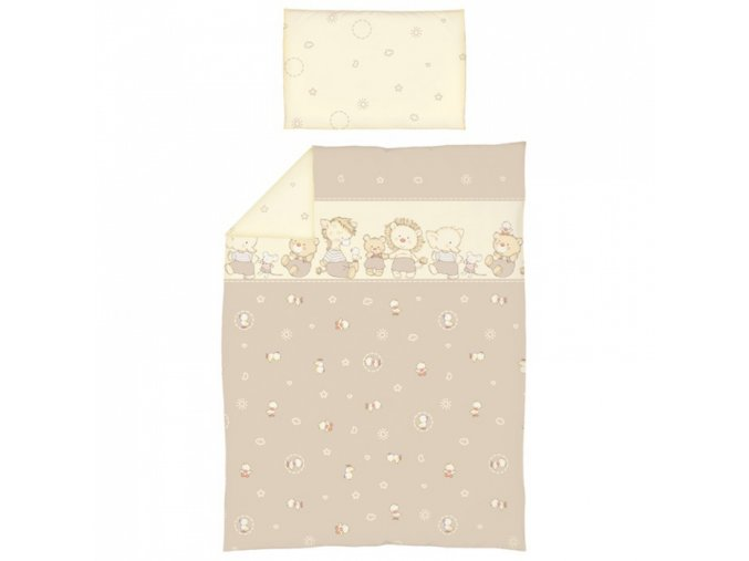 Dětské povlečení do postýlky Ceba Kačenky 2-dílné 100 x 135 cm