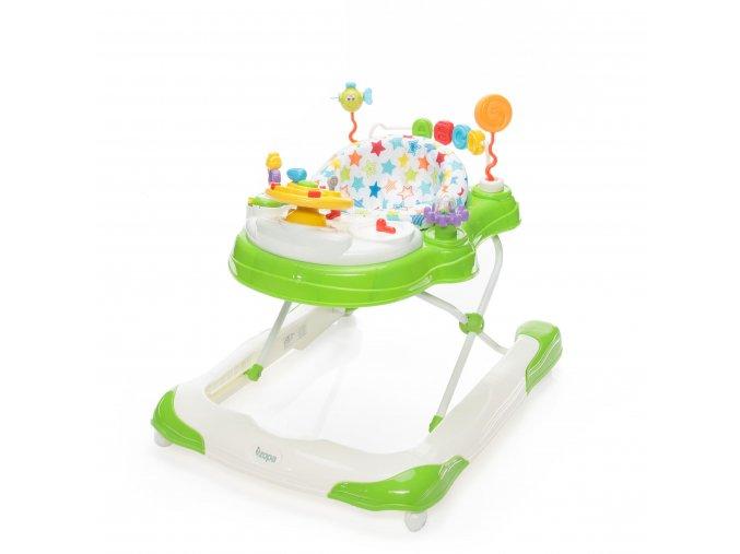 detske choditko zopa moby 3 v 1 jelly green