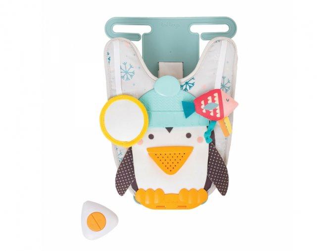 detska hracka do autosedacky taf toys hudebni pult tucnak