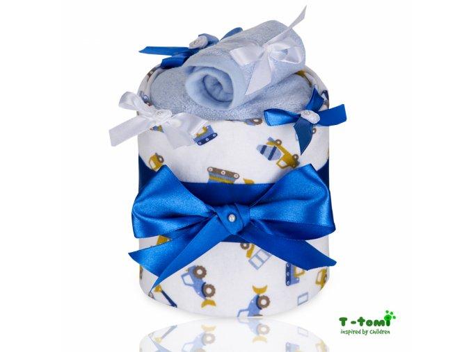Plenkový dort T-Tomi Bagr-malý
