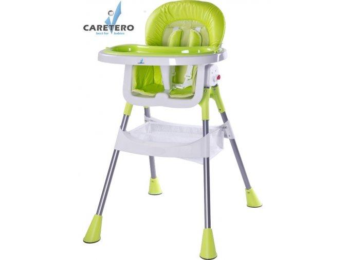 Dětská jídelní židlička Caretero Pop