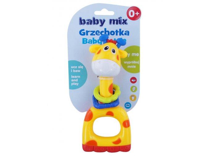 Dětské chrastítko Baby Mix Žirafa