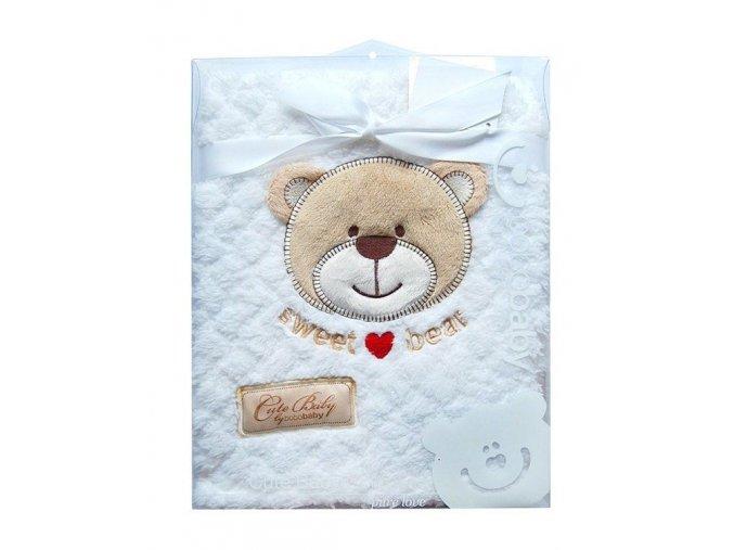 Dětská deka Bobobaby Dárkové balení 76 x 102 cm